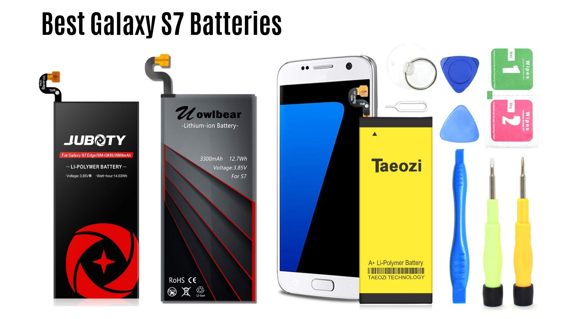 Best Galaxy s7 replacement battery