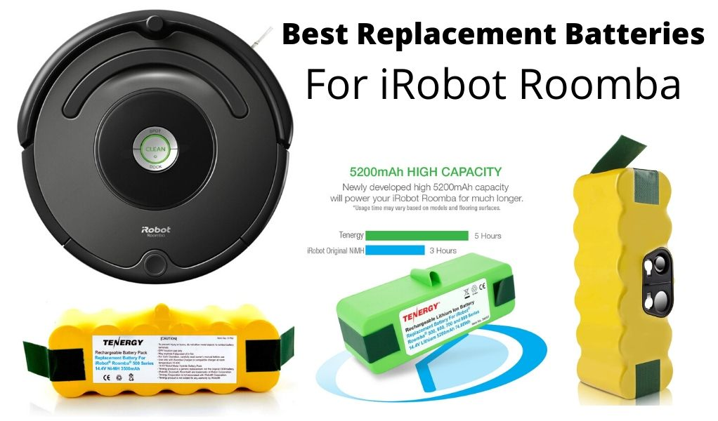 Best Replacement Battery For iRobot Roomba