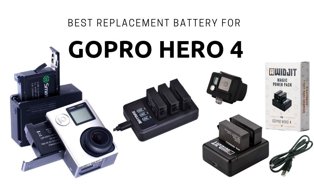Best Replacement Battery for Gopro Hero 4