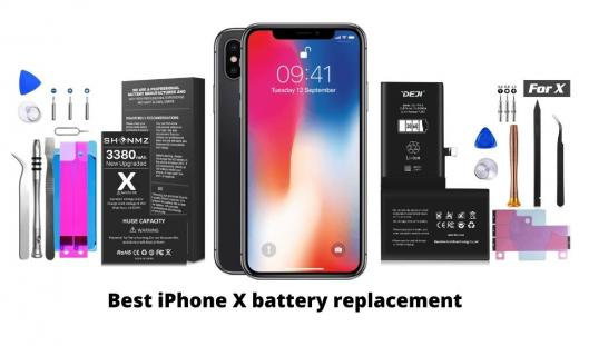 Best iPhone X battery replacement