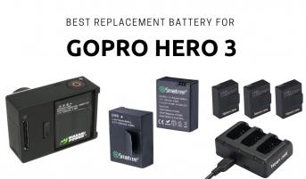 Best Replacement Battery for Gopro Hero 3