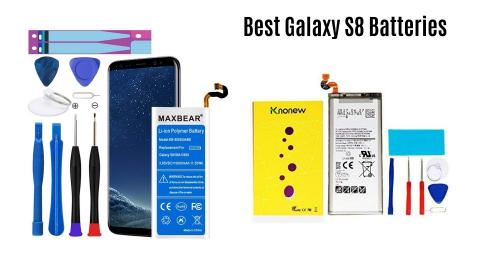 Best Galaxy s8 replacement battery