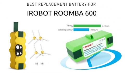 Best replacement battery for iRobot Roomba 600 series