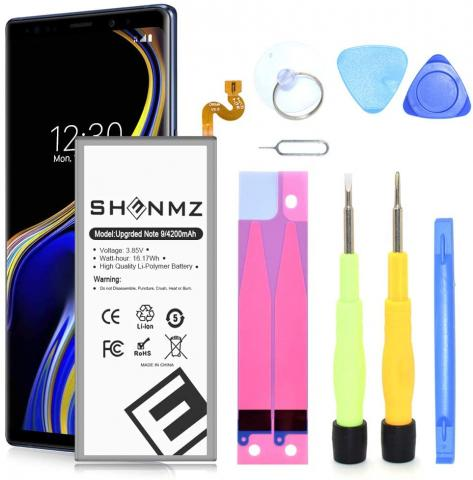 SHENMZ Galaxy Note 9 Replacement Battery - 4200mAh