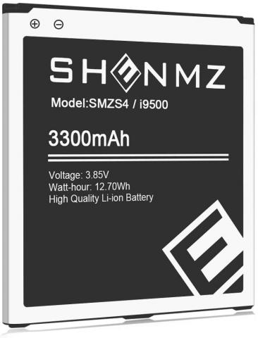 SHENMZ replacement Battery for Samsung Galaxy S4