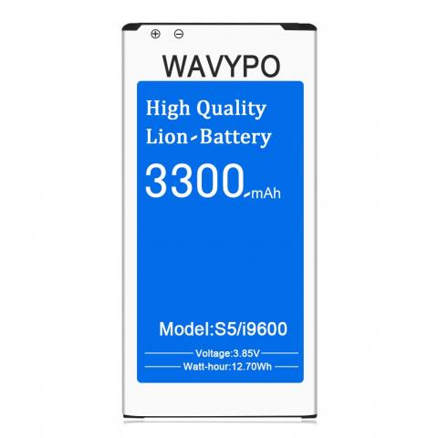 Wavypo Replacement Battery for Samsung Galaxy S5 Active - 3300mAh