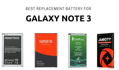 Best Replacement Battery For Galaxy Note 3