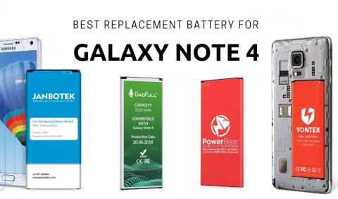 Top Battery For Galaxy Note 4