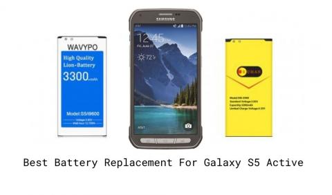 Best Replacement Battery For Galaxy S5 Active