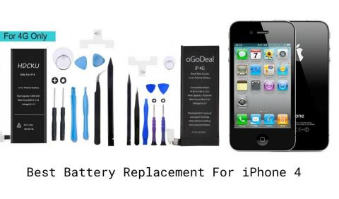 Best Replacement Battery for iPhone 4