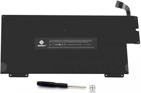 E EGOWAY Replacement Battery for Early/Late 2008 Mid 2009 MacBook Air 13 inch