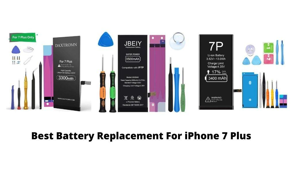 Best Battery Replacement for iPhone 7 Plus