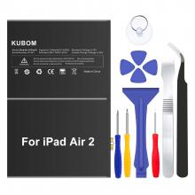 KUBOM Replacement Battery for iPad Air 2 or iPad 6, Full 7340mAh 0 Cycle Battery