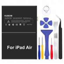 KUBOM Replacement Battery for iPad Air or iPad 5, Full 8827mAh 0 Cycle Battery