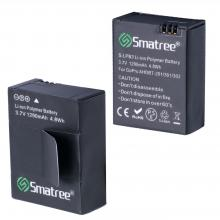 Smatree Rechargeable Battery and Dual Charger for Gopro Hero3+ / Hero 3 camera